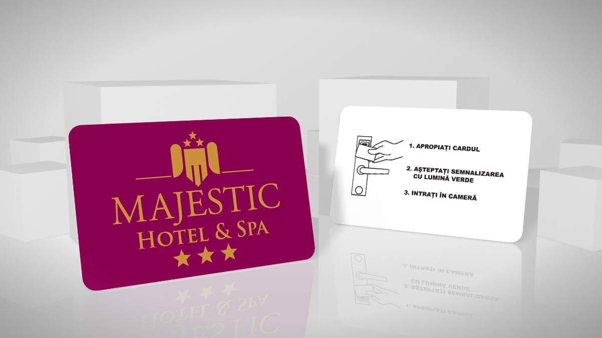 card acces hotel RFID, Mifare 1k